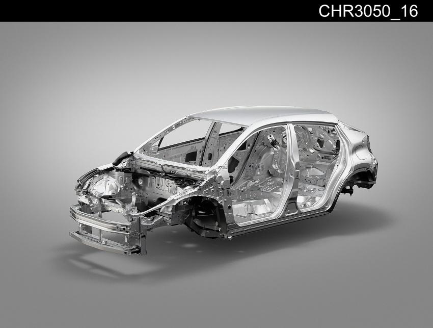GALERI: Toyota C-HR – gambar perincian tambahan Image #579072