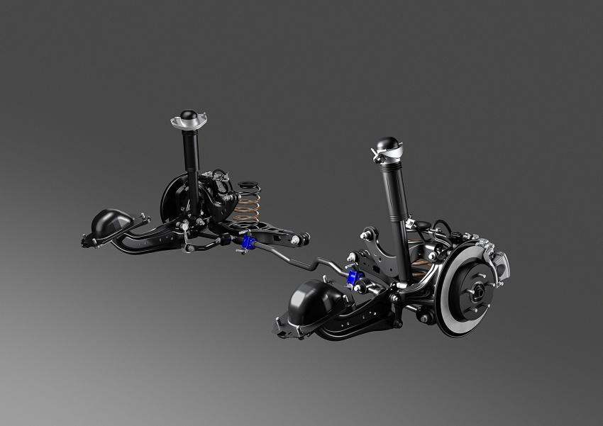 GALERI: Toyota C-HR – gambar perincian tambahan Image #579077