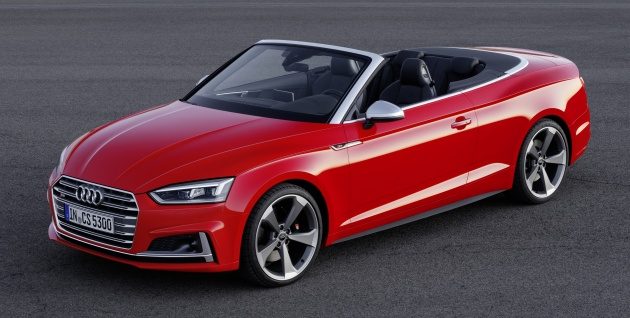Audi A And S Cabriolet The Soft Top Revealed - Audi a5 convertible