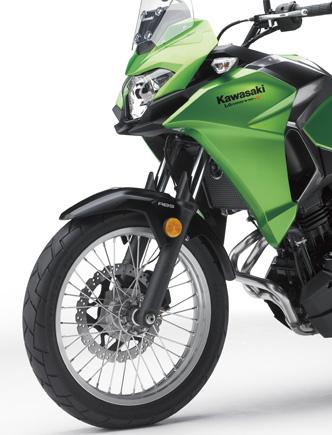 2017 Kawasaki Versys-X 250 adventure bike launched Image #575589