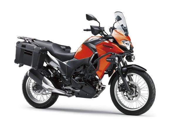 2017 Kawasaki Versys-X 250 adventure bike launched Image #575620