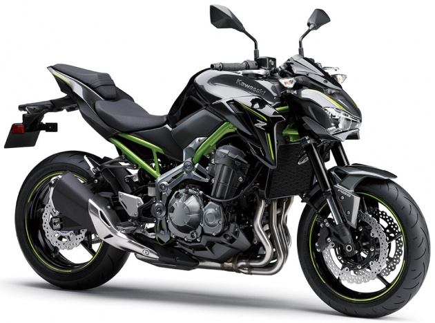 2017 Kawasaki Z900 announced - 124 hp, 210 kg, replaces outgoing