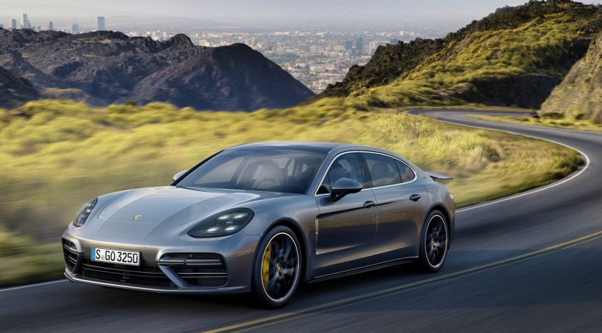 2017 Porsche Panamera Executive, 150 mm longer WB Image #577758