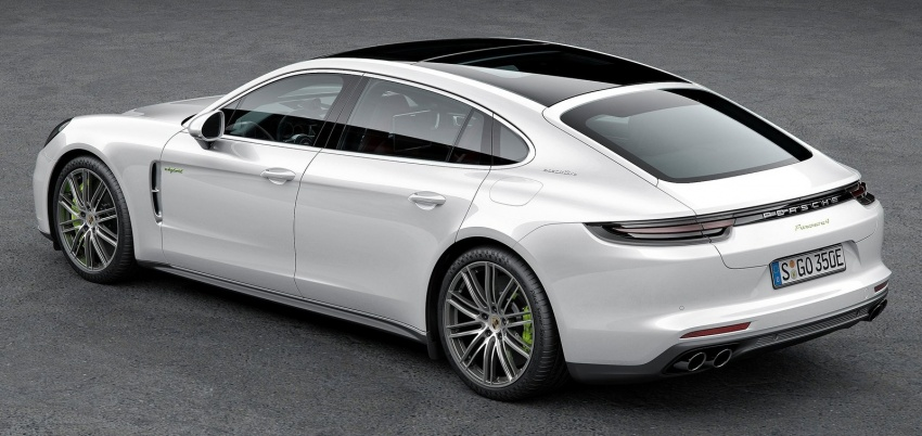 2017 Porsche Panamera Executive, 150 mm longer WB Image #577765