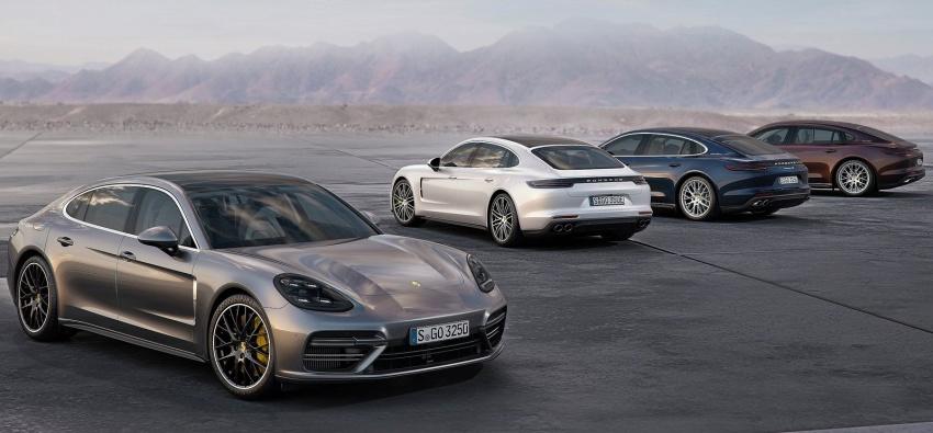 2017 Porsche Panamera Executive, 150 mm longer WB Image #577767