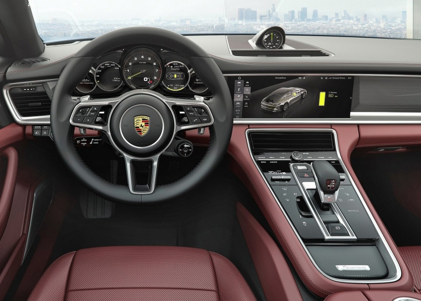2017 Porsche Panamera Executive, 150 mm longer WB Image #577768