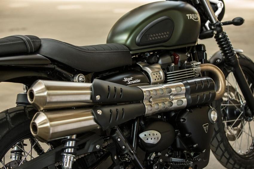 Triumph Street Scrambler – bawa gaya lasak, 54 hp Image #575947