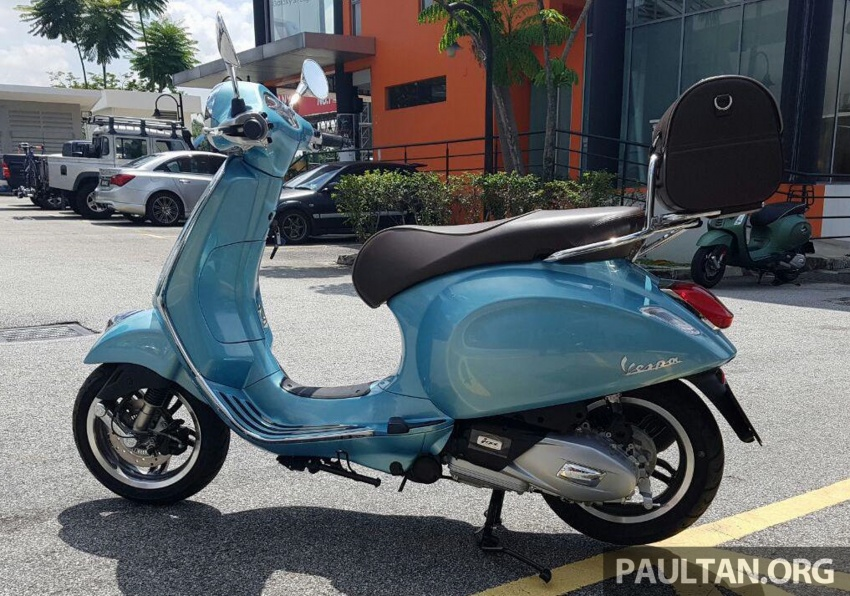 2017 Vespa 70th Anniversary Edition – from RM18,440 Image #581643