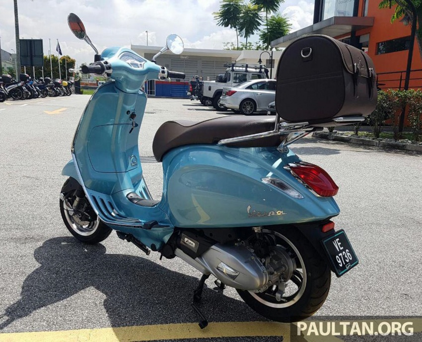 2017 Vespa 70th Anniversary Edition – from RM18,440 Image #581645