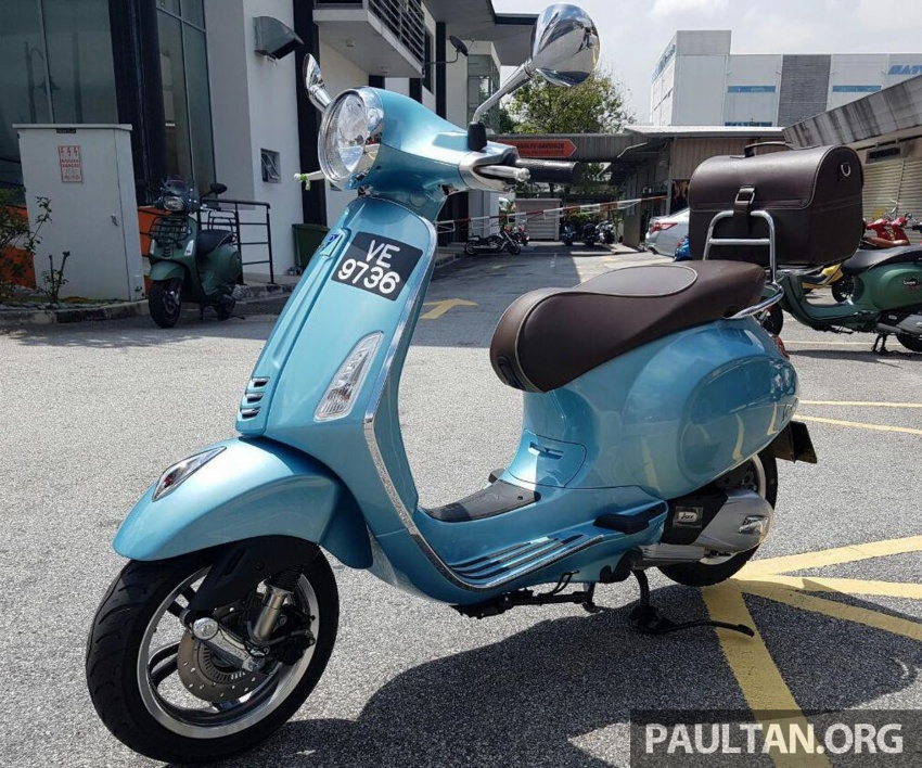 2017 Vespa 70th Anniversary Edition – from RM18,440 Image #581646