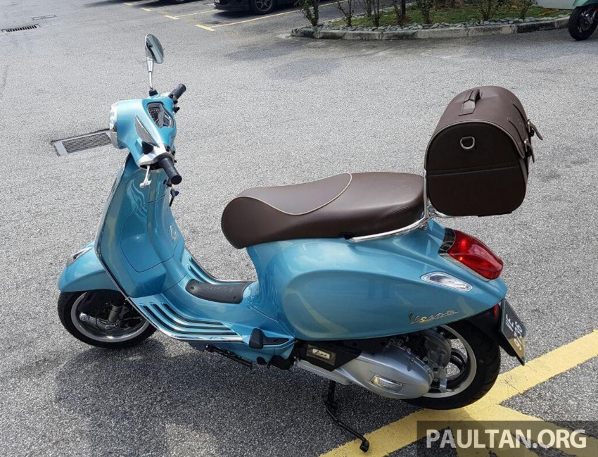2017 Vespa 70th Anniversary Edition – from RM18,440 Image #581649