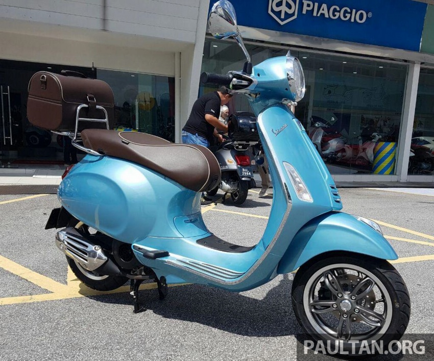 2017 Vespa 70th Anniversary Edition – from RM18,440 Image #581651