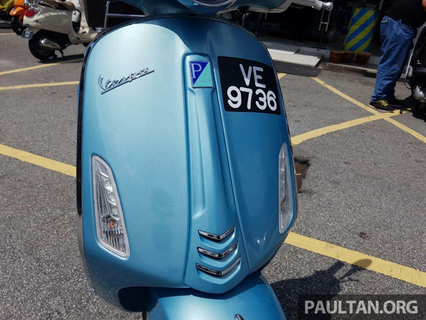 2017 Vespa 70th Anniversary Edition – from RM18,440 Image #581634