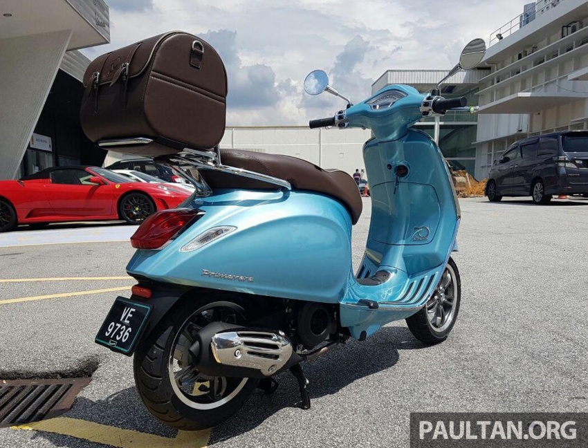 2017 Vespa 70th Anniversary Edition – from RM18,440 Image #581652