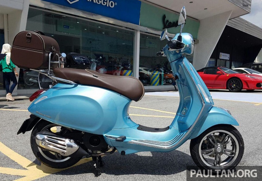 2017 Vespa 70th Anniversary Edition – from RM18,440 Image #581653