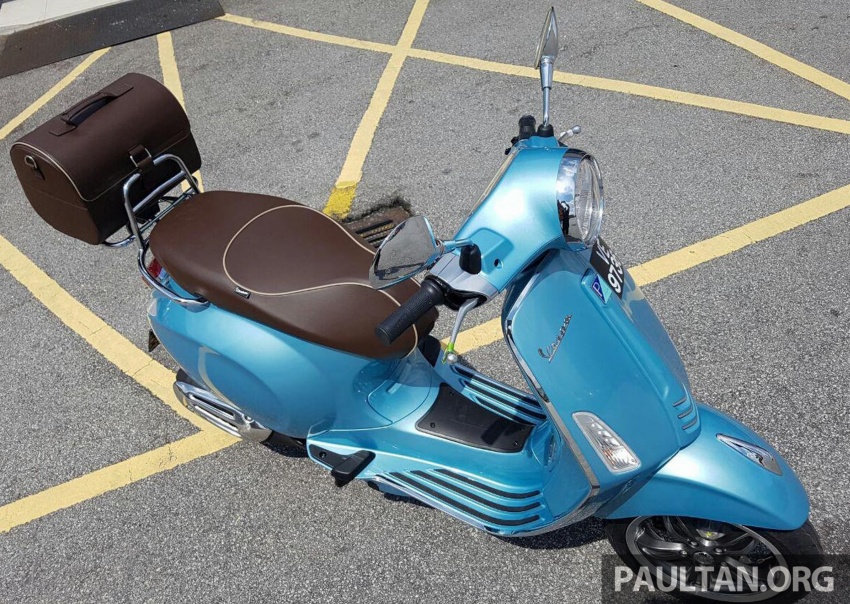 2017 Vespa 70th Anniversary Edition – from RM18,440 Image #581654