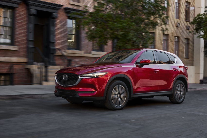 All-new Mazda CX-5 officially debuts at LA Auto Show Image #580137