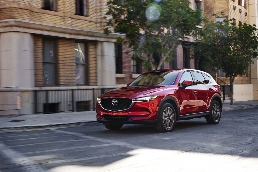 All-new Mazda CX-5 officially debuts at LA Auto Show Image #580138