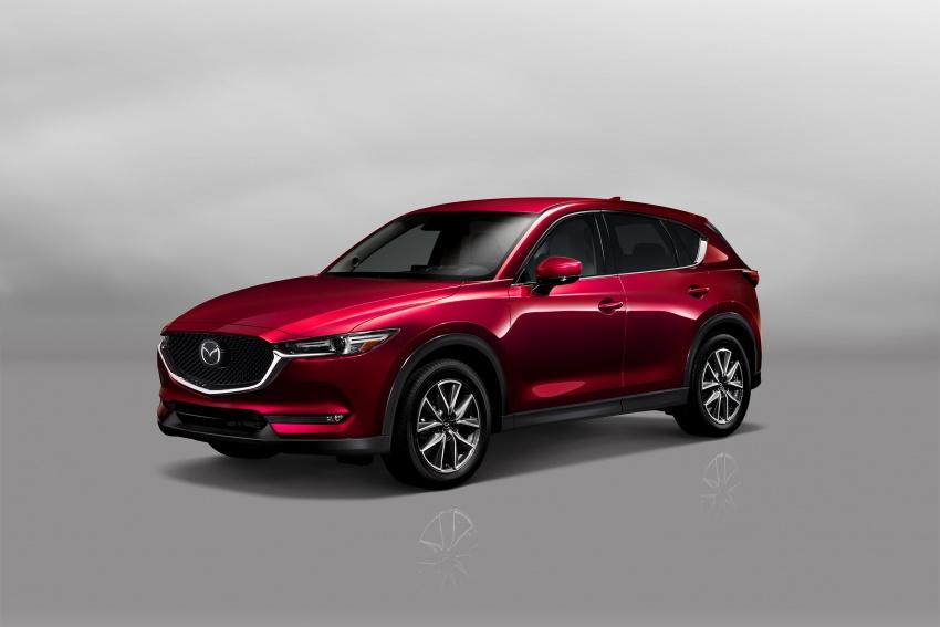All-new Mazda CX-5 officially debuts at LA Auto Show Image #580156