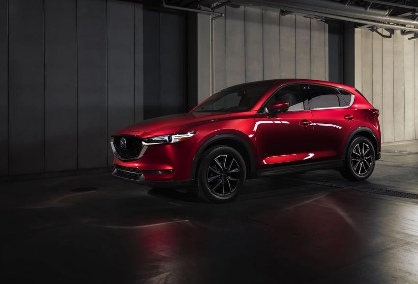 All-new Mazda CX-5 officially debuts at LA Auto Show Image #580159