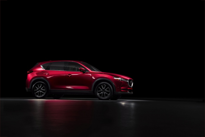 All-new Mazda CX-5 officially debuts at LA Auto Show Image #580161