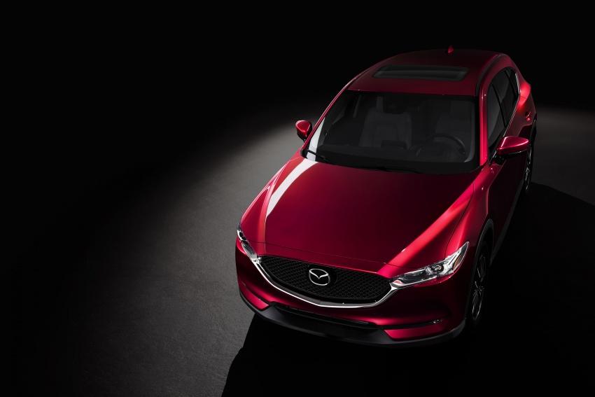 All-new Mazda CX-5 officially debuts at LA Auto Show Image #580162