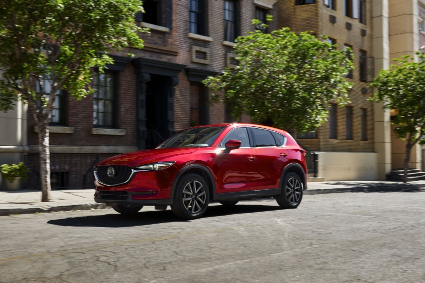 All-new Mazda CX-5 officially debuts at LA Auto Show Image #580141
