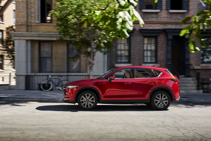 All-new Mazda CX-5 officially debuts at LA Auto Show Image #580142