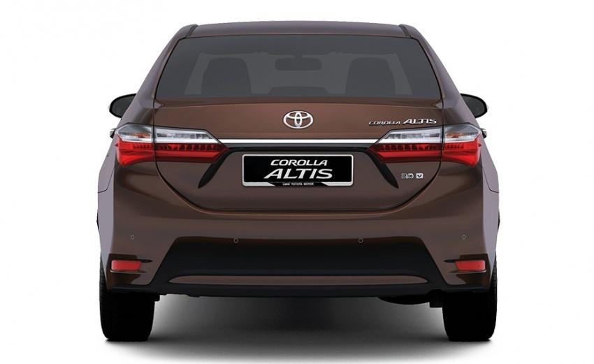 Toyota Corolla Altis facelift – spesifikasi tiga varian untuk pasaran Malaysia didedah, tempahan dibuka Image #578222