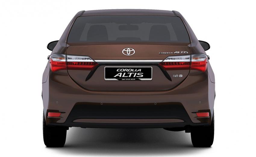Toyota Corolla Altis facelift – Malaysian specs revealed Image #578054