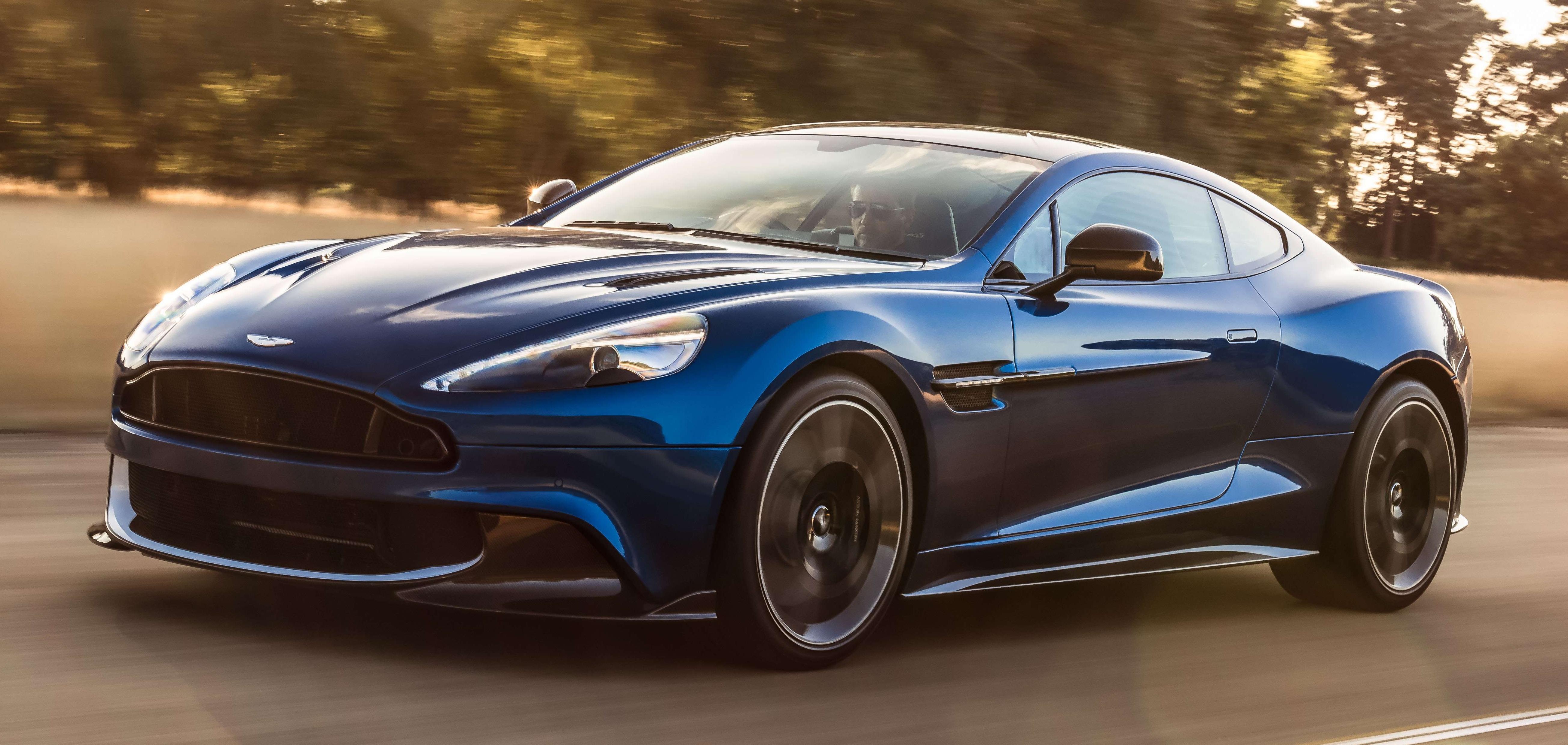 Aston Martin Vanquish S Long Live The V12 Engine Image