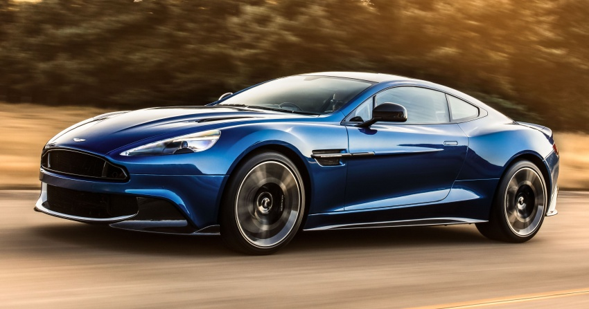 Aston Martin Vanquish S – long live the V12 engine Image #580457