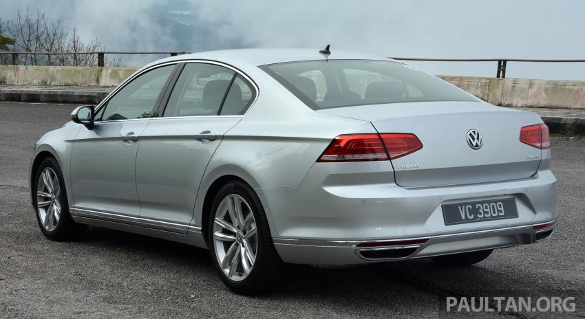 DRIVEN: B8 Volkswagen Passat 1.8 TSI and 2.0 TSI Image #578378