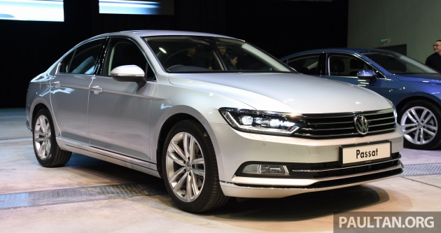 b8 volkswagen passat officially launched in malaysia three variants priced from rm161k to rm200k. Black Bedroom Furniture Sets. Home Design Ideas