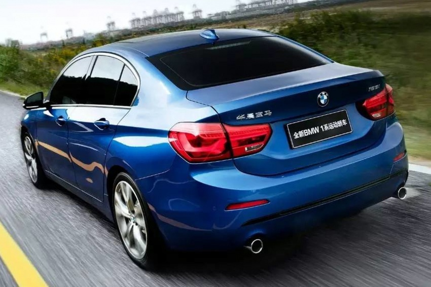 BMW 1 Series Sedan fully revealed – more details Image #582924
