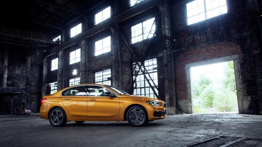 BMW 1 Series Sedan fully revealed – more details Image #582926