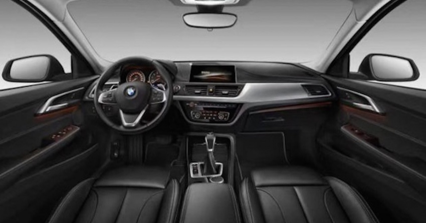 BMW 1 Series Sedan – first picture of interior revealed Image #573167