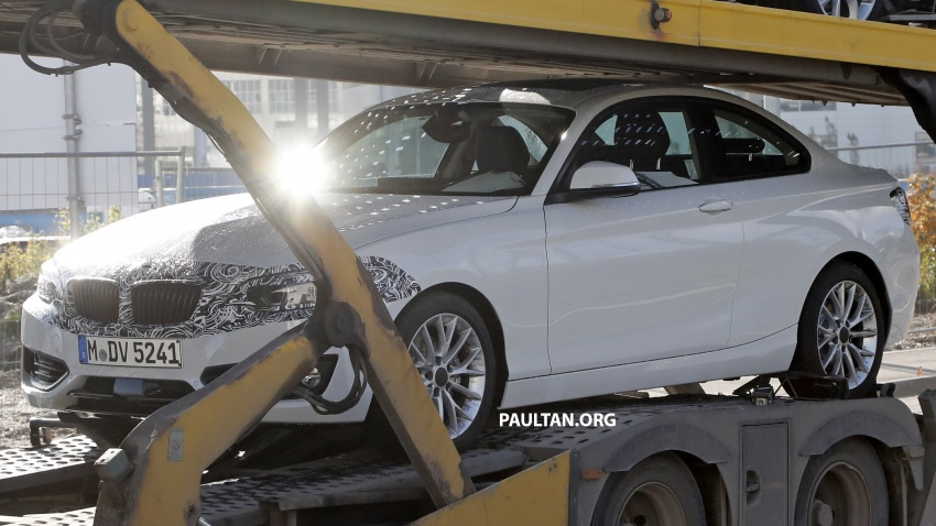 SPIED: BMW 2 Series Coupe gets very mild facelift Image #574732