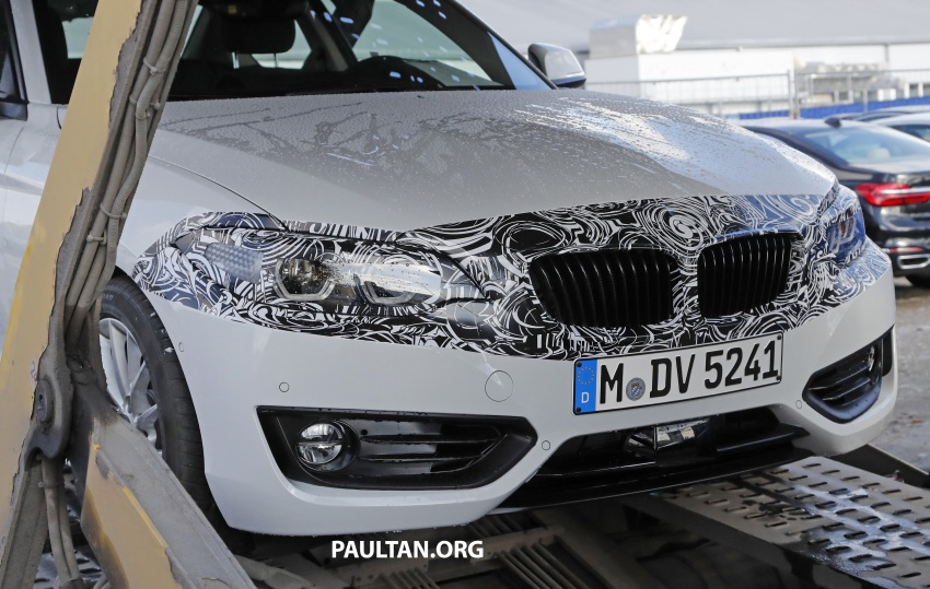 SPIED: BMW 2 Series Coupe gets very mild facelift Image #574742
