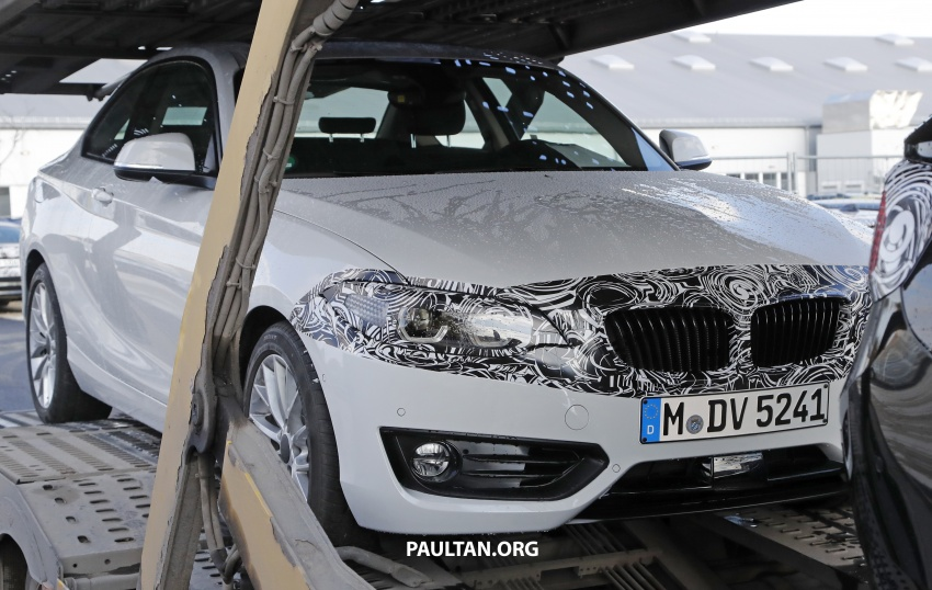 SPIED: BMW 2 Series Coupe gets very mild facelift Image #574743