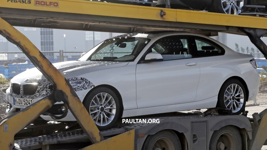 SPIED: BMW 2 Series Coupe gets very mild facelift Image #574733
