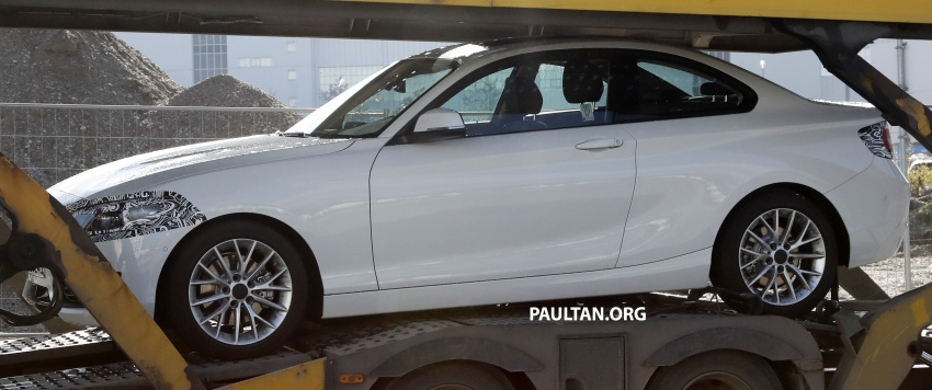 SPIED: BMW 2 Series Coupe gets very mild facelift Image #574734