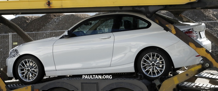 SPIED: BMW 2 Series Coupe gets very mild facelift Image #574736