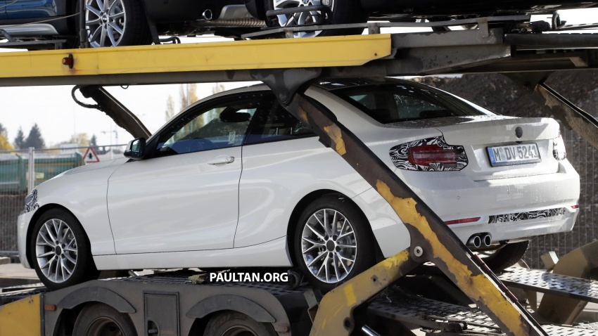 SPIED: BMW 2 Series Coupe gets very mild facelift Image #574737