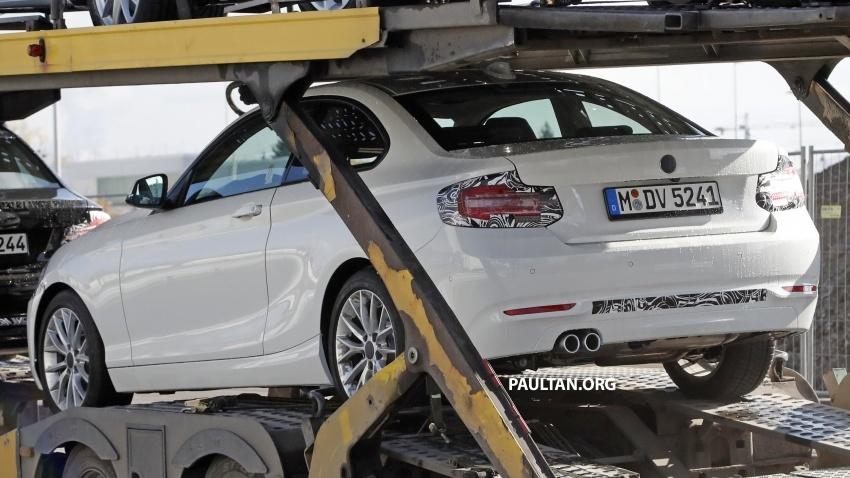 SPYSHOT: BMW 2 Series Coupe dapat pembaharuan Image #574844