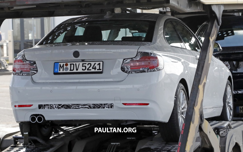 SPIED: BMW 2 Series Coupe gets very mild facelift Image #574739