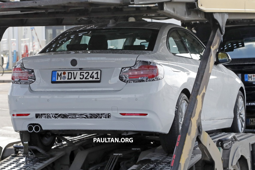 SPIED: BMW 2 Series Coupe gets very mild facelift Image #574740