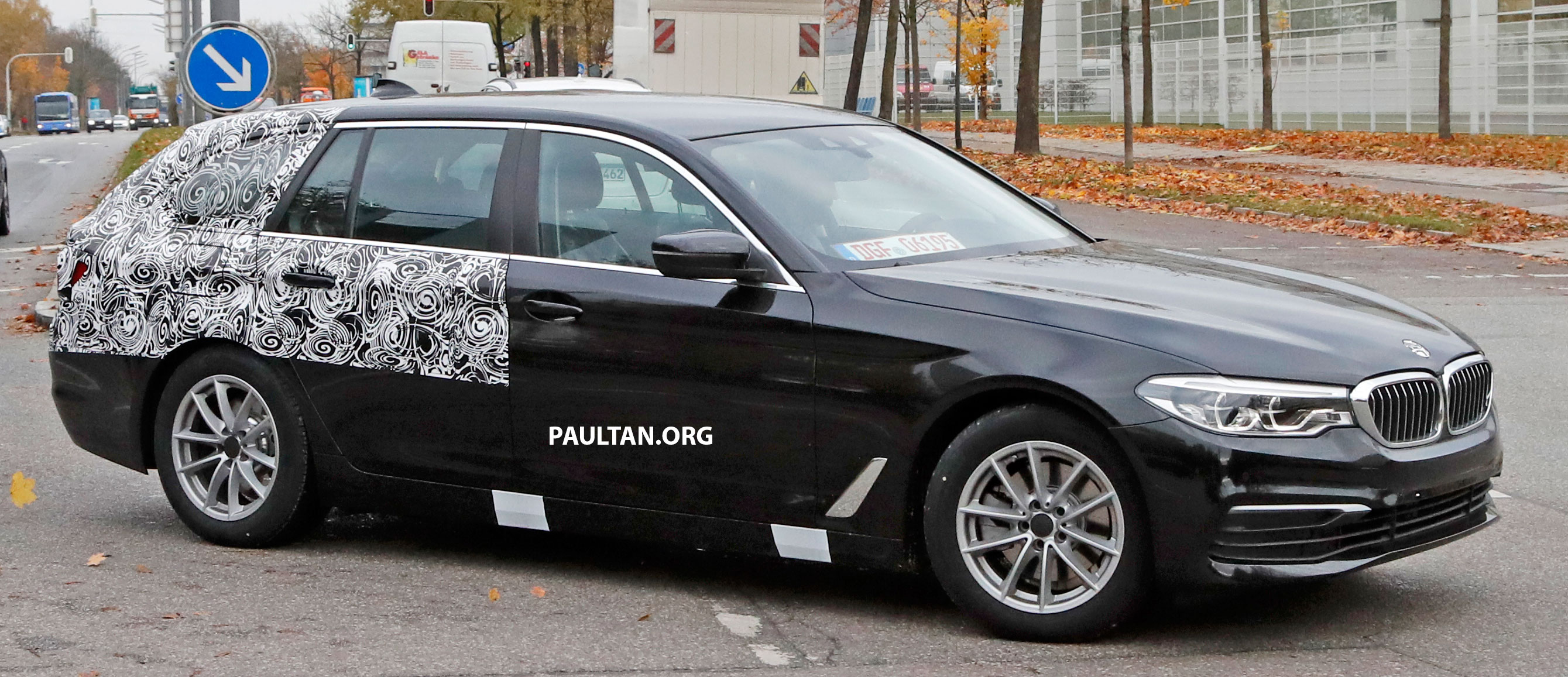 SPIED: G31 BMW 5 Series Touring with less camo Paul Tan ...