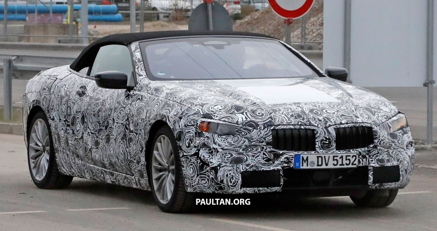 SPYSHOTS: Next BMW 6 Series Convertible testing Image #586267