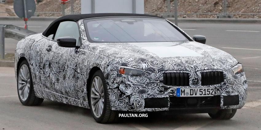 SPYSHOTS: Next BMW 6 Series Convertible testing Image #586384
